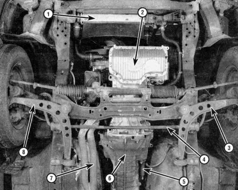 3 — Рычаг передней подвески